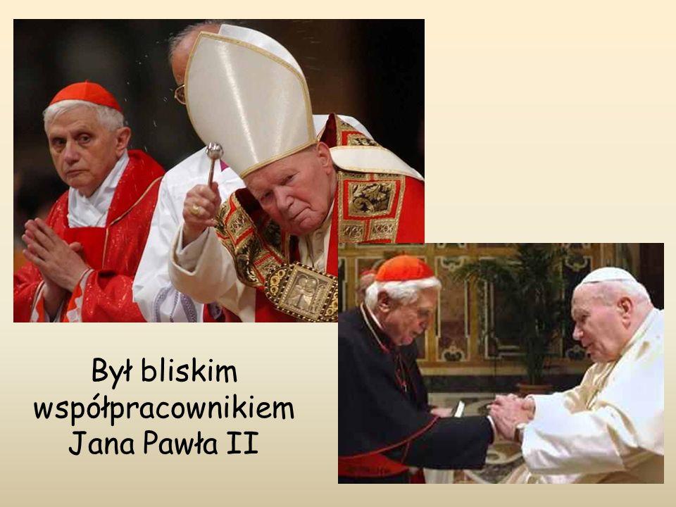 Był bliskim współpracownikiem Jana Pawła II