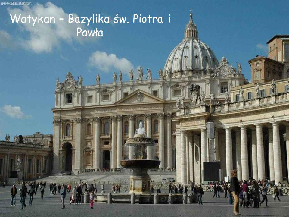 Watykan – Bazylika św. Piotra i Pawła