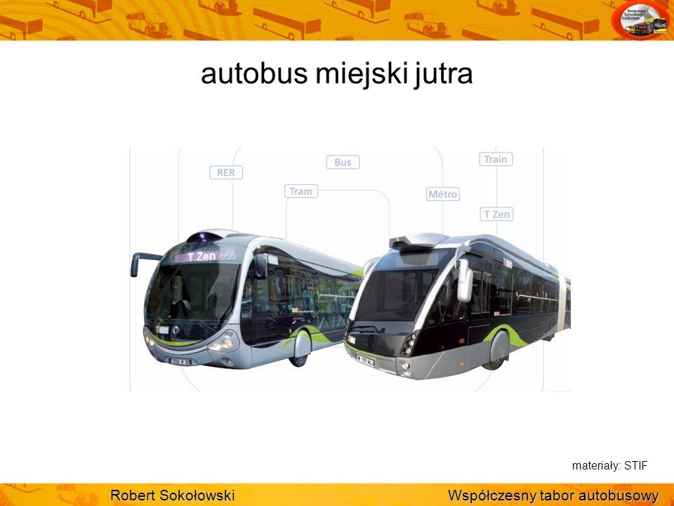 autobus miejski jutra Robert Sokołowski Współczesny tabor autobusowy materiały: STIF
