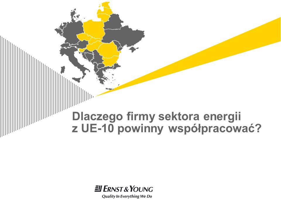 Sektor energii krajów EU 10Page 9 Kraje UE–10 mają podobne wyzwania… Zapóźnienie gospodarcze i spodziewany szybszy wzrost niż w krajach UE-15 – PKB per capita w UE-10 to 9,0 tys.