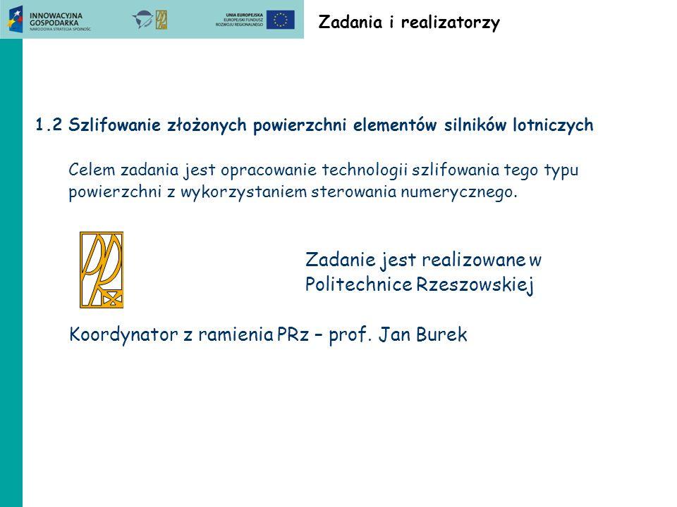 ZB1.3 Politechnika Lubelska Wskaźniki Referaty konferencyjne Kęcik K.: Workshop on Reserch achievements and planned investigations within 7.FP CEMCAST project.