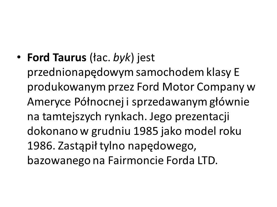 Ford Taurus (łac.