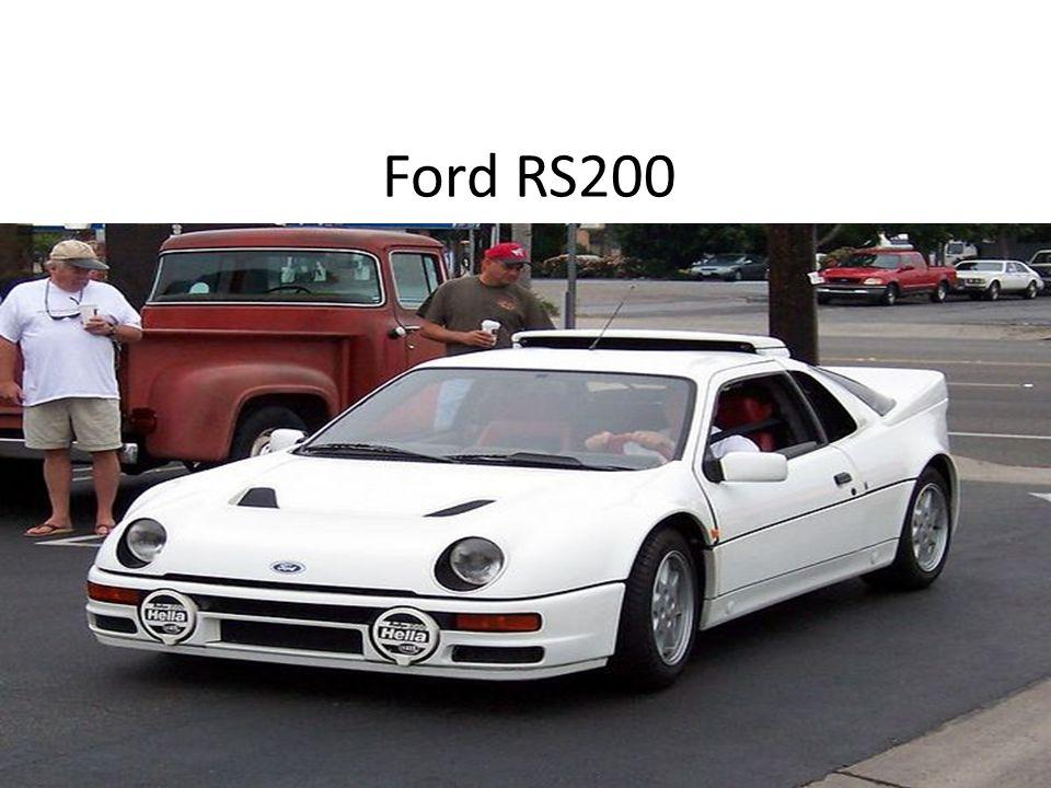 Ford RS200 - sportowy samochód wyposażony w napęd na cztery koła produkowany przez firmę Ford w latach 1984-1986.