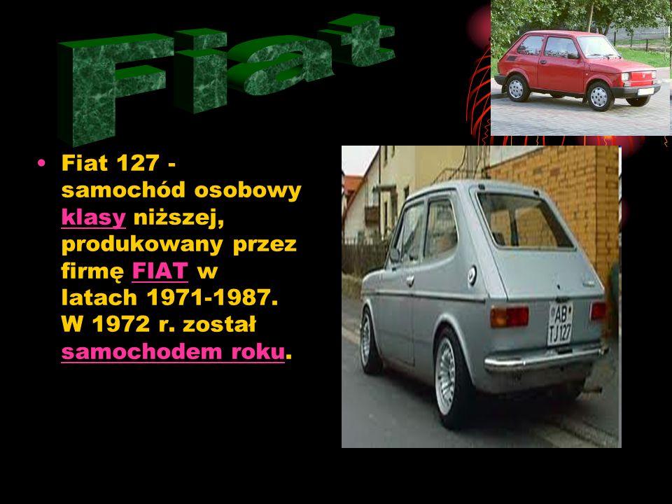 Polski Fiat 125p – samochód osobowy klasy średniej produkowany w FSO na Żeraniu od 28 listopada 1967[2] do 29 czerwca 1991 na podstawie umowy licencyj