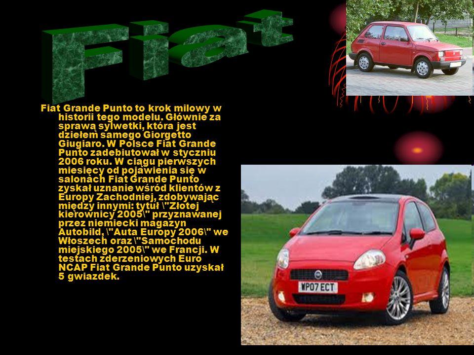 Fiat 127 - samochód osobowy klasy niższej, produkowany przez firmę FIAT w latach 1971-1987. W 1972 r. został samochodem roku. klasyFIAT samochodem rok