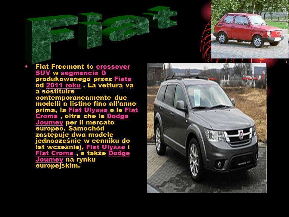 Fiat Sedici – samochód terenowy stworzony przez Suzuki i Fiata, produkowany od 2006 roku w fabryce Magyar Suzuki na Węgrzech.SuzukiFiata2006 Magyar Su