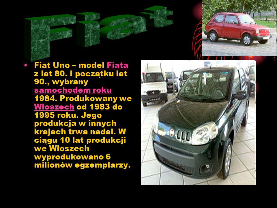 Fiat Tipo – samochód osobowy segmentu C produkowany w latach 1988–1995 przez włoską firmę FIAT. Płytę podłogową wykorzystywały również inne modele kon