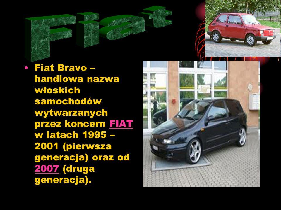 Fiat Bravo – handlowa nazwa włoskich samochodów wytwarzanych przez koncern FIAT w latach 1995 – 2001 (pierwsza generacja) oraz od 2007 (druga generacja).FIAT 2007