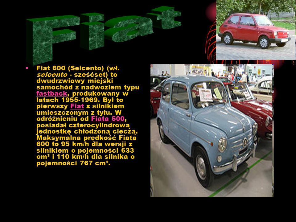 Fiat 500 (znany też jako Fiat 500 Nuova) – mały samochód miejski produkowany przez firmę FIAT w latach 1957–1975 roku i od roku 2007 do dnia dzisiejsz