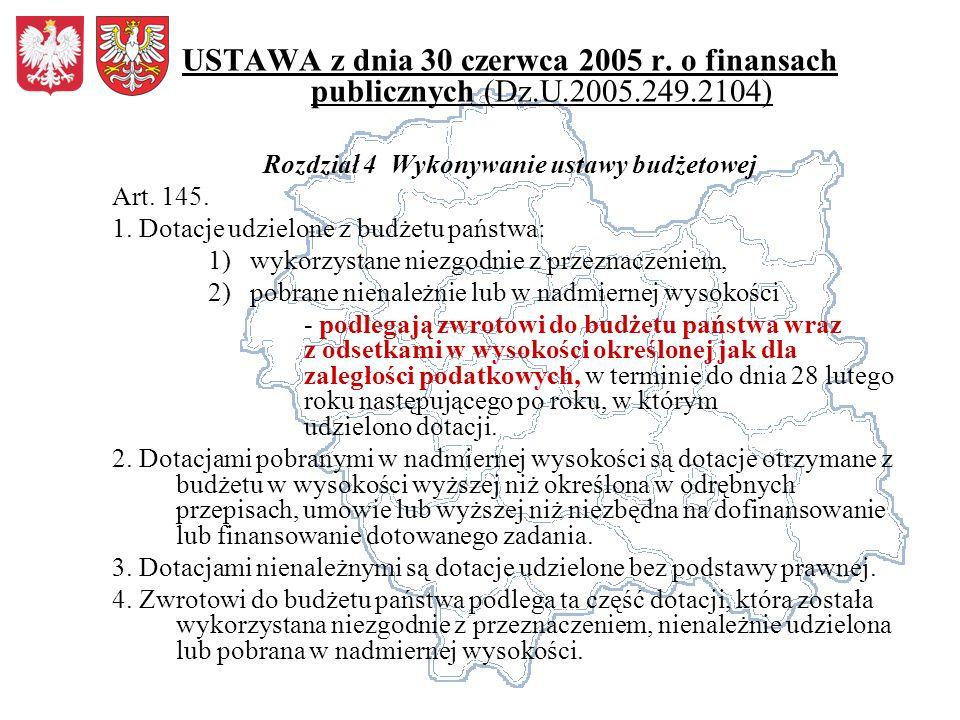 USTAWA z dnia 17 grudnia 2004 r.