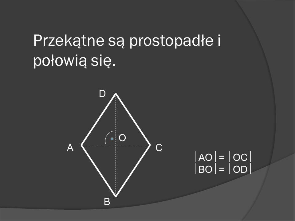 Kąty przeciwległe są równe. Suma miar kątów sąsiednich wynosi 180 stopni. + = 180 0