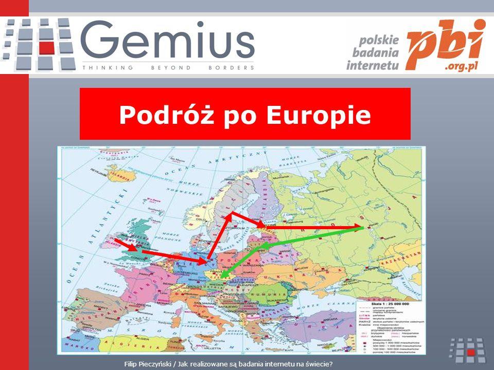 Filip Pieczyński / Jak realizowane są badania internetu na świecie Podróż po Europie