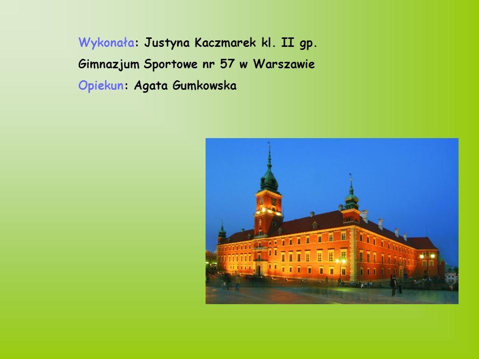 Wykonała: Justyna Kaczmarek kl. II gp.