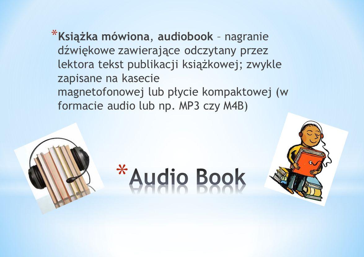 * książka elektroniczna, której treść zapisana jest w formie elektronicznej, przeznaczona do odczytania za pomocą odpowiedniego oprogramowania zainsta