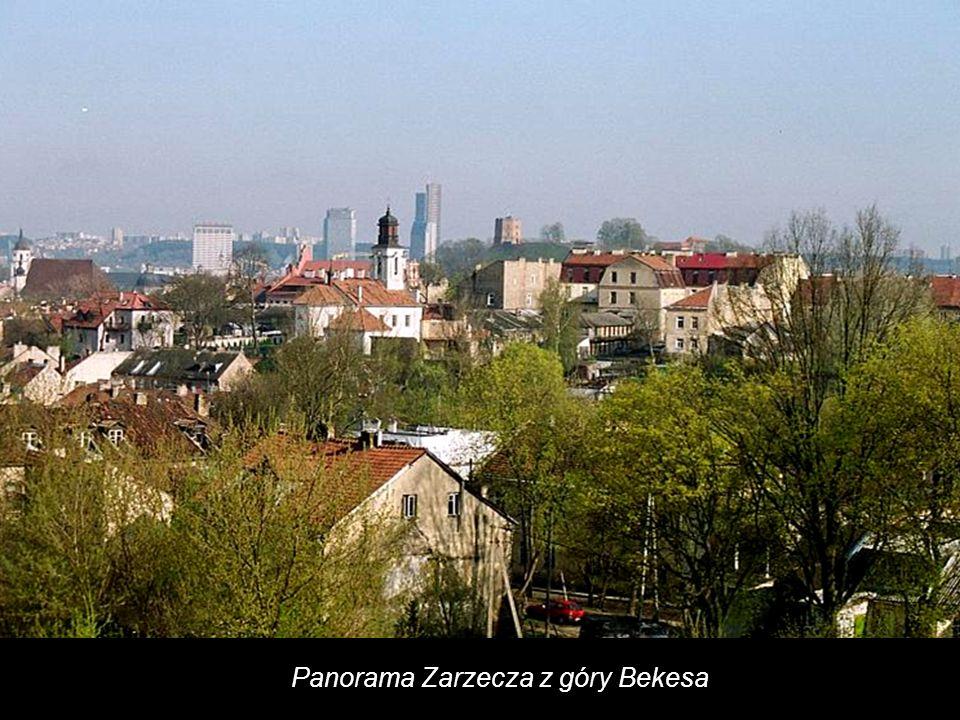 Panorama Starego Miasta ze strony Zarzecza, z góry Bekesa.