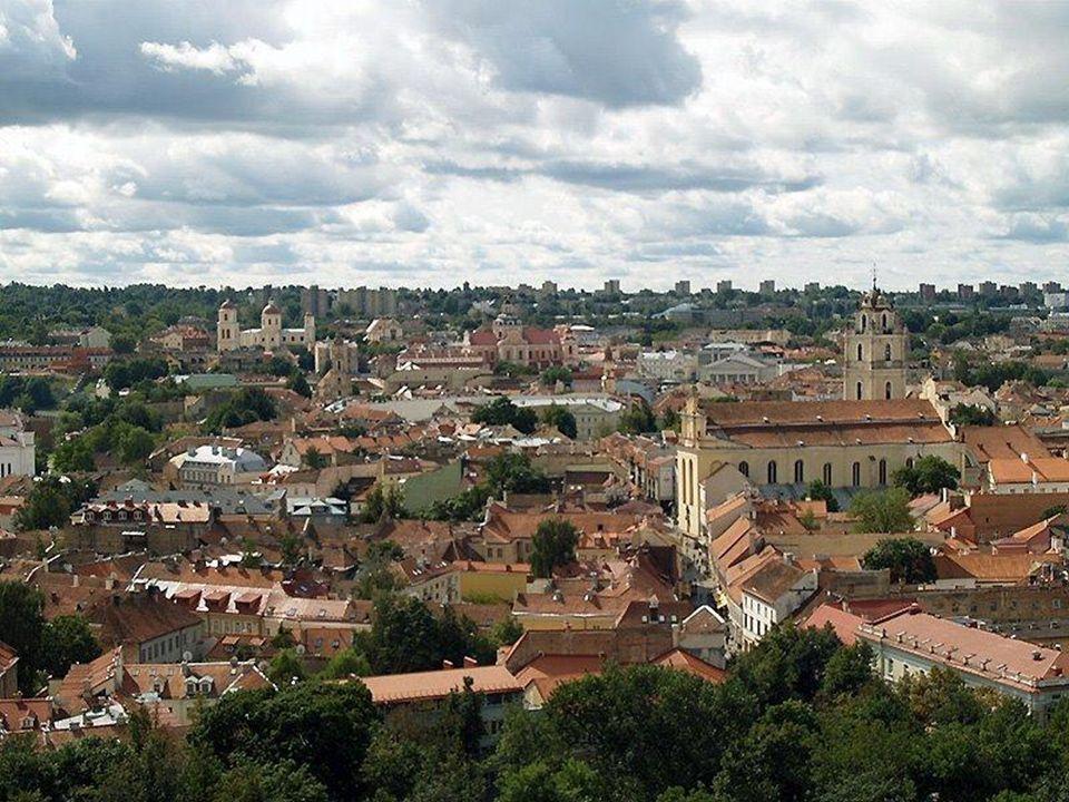 Panorama Starego Miasta z wieży Giedymina