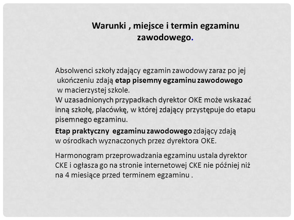 Ogłoszenie wyników i wydawanie dyplomów.1.