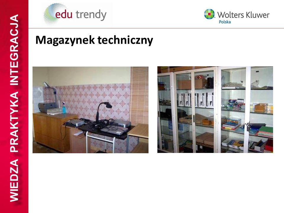WIEDZA PRAKTYKA INTEGRACJA Magazynek techniczny