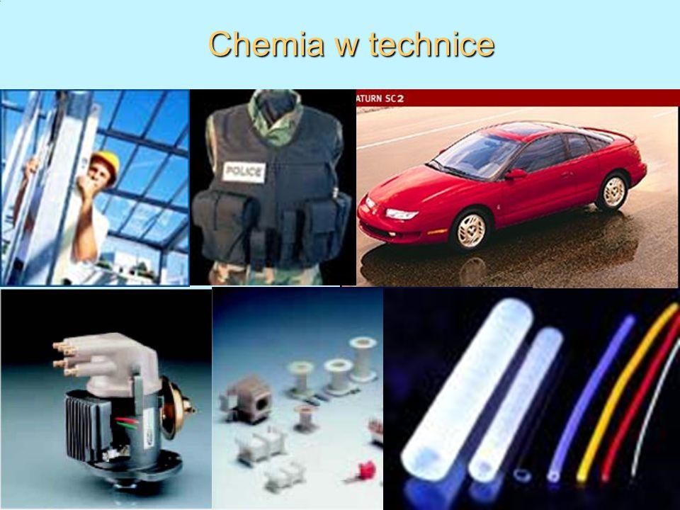 1.10.10 dr Wojciech Solarski, Zakład Chemii WO AGH, tel. (12)617-27-04) 11 Chemia w technice