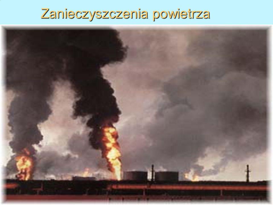 1.10.10 dr Wojciech Solarski, Zakład Chemii WO AGH, tel. (12)617-27-04) 17 Zanieczyszczenia powietrza