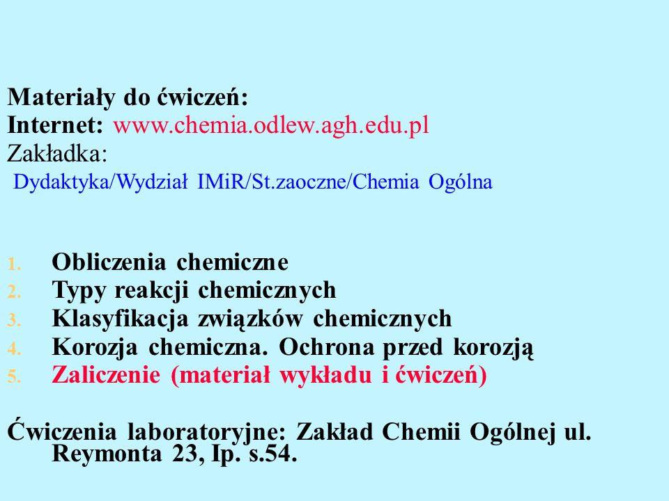 Chemia dla inżynierów, pr. zb. pod red. J.Banasia, W.Solarskiego.
