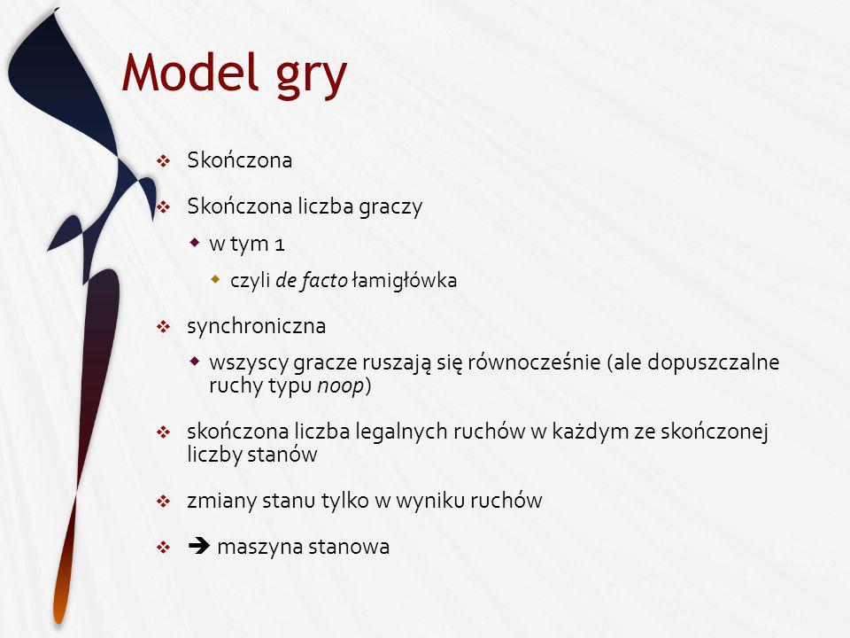 Model gry c.d.M. Genesereth, N. Love, and B. Pell.