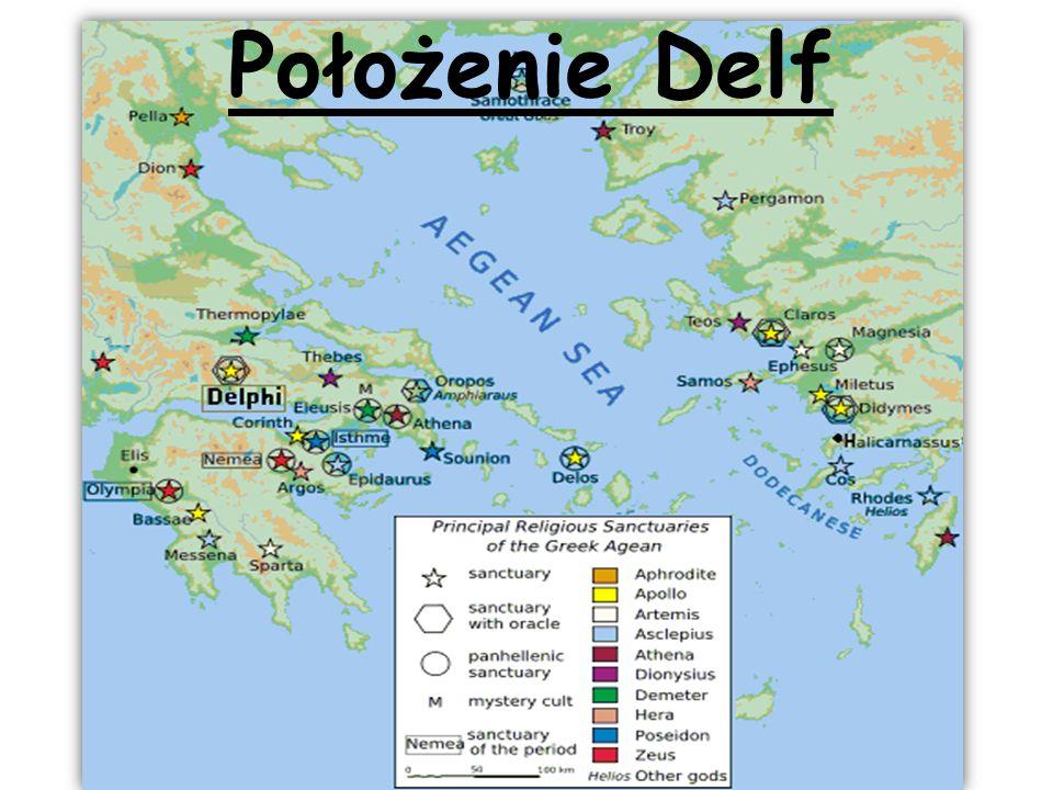 Położenie Delf