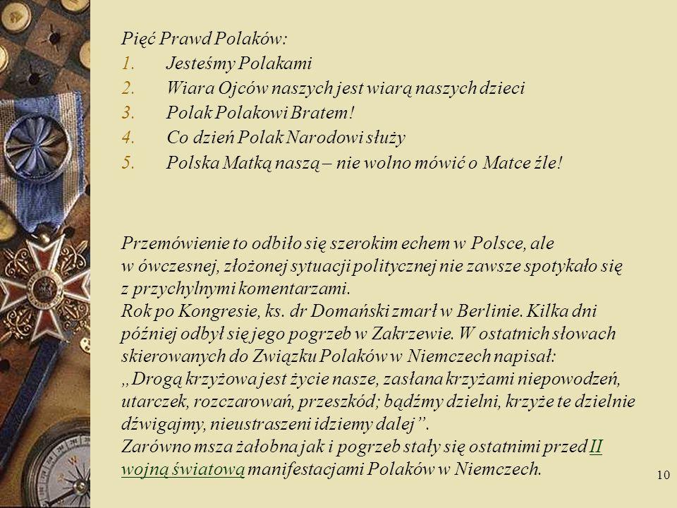 11 Znaczek Poczty Polskiej wydany z okazji 60-lecia Związku Polaków w Niemczech w 1982 r.