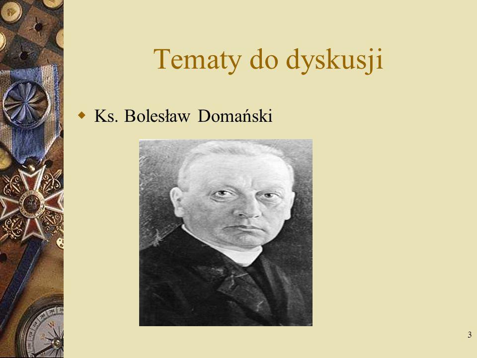 4 Rodzina i edukacja Bolesław Domański, syn Franciszka i Ewy z d.