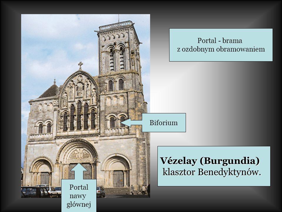 Vézelay (Burgundia) klasztor Benedyktynów.klasztor Benedyktynów.