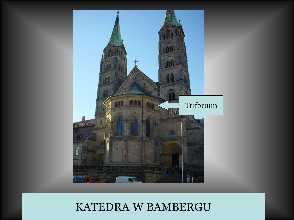 KATEDRA W BAMBERGU Triforium