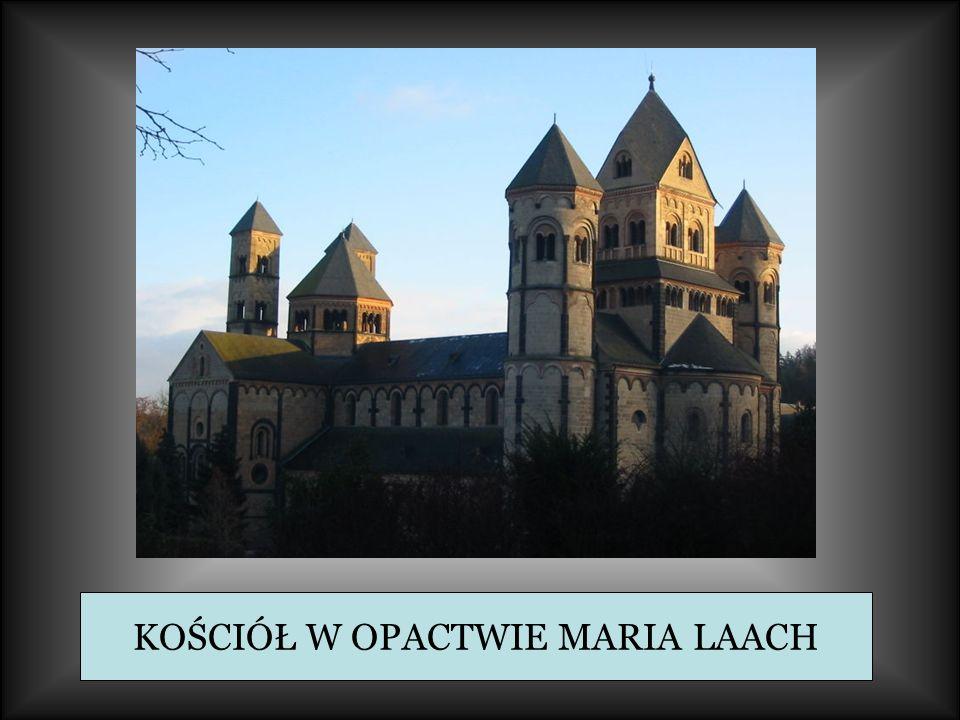 KOŚCIÓŁ W OPACTWIE MARIA LAACH