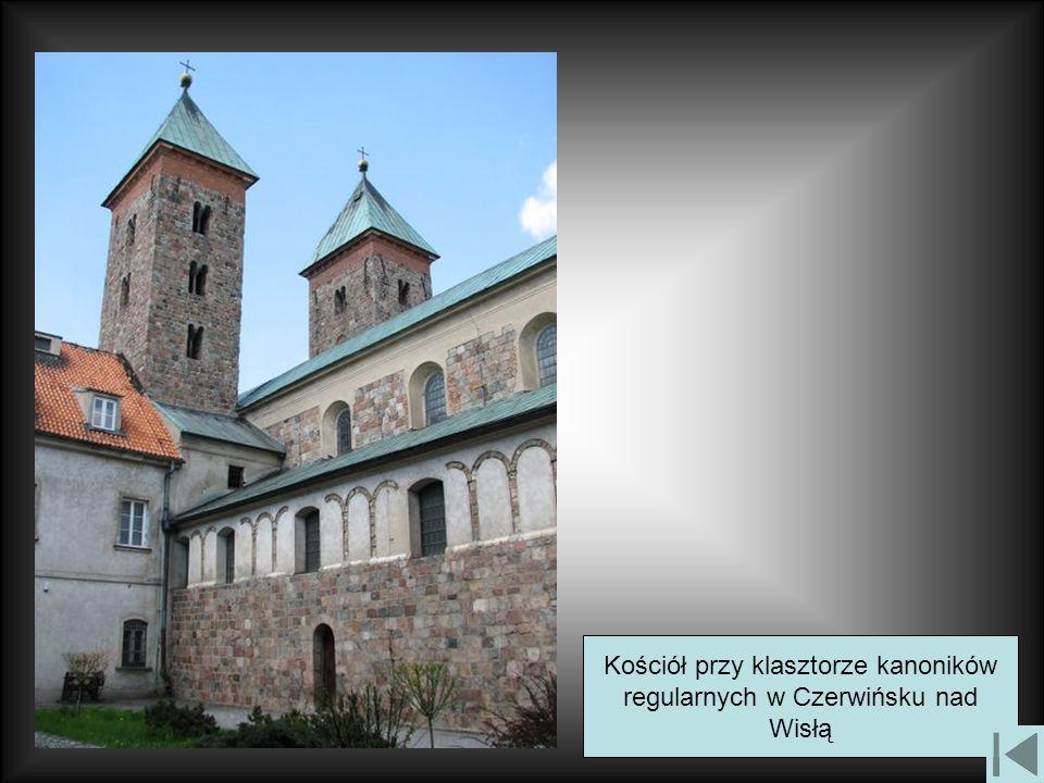 Kościół przy klasztorze kanoników regularnych w Czerwińsku nad Wisłą
