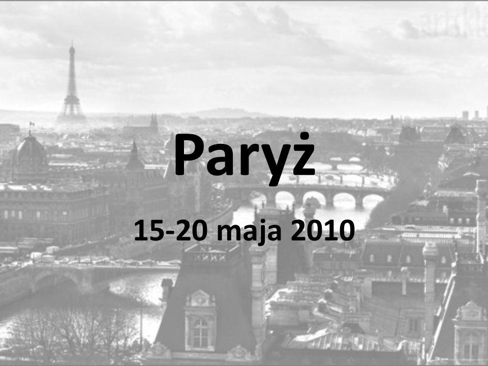 Paryż 15-20 maja 2010
