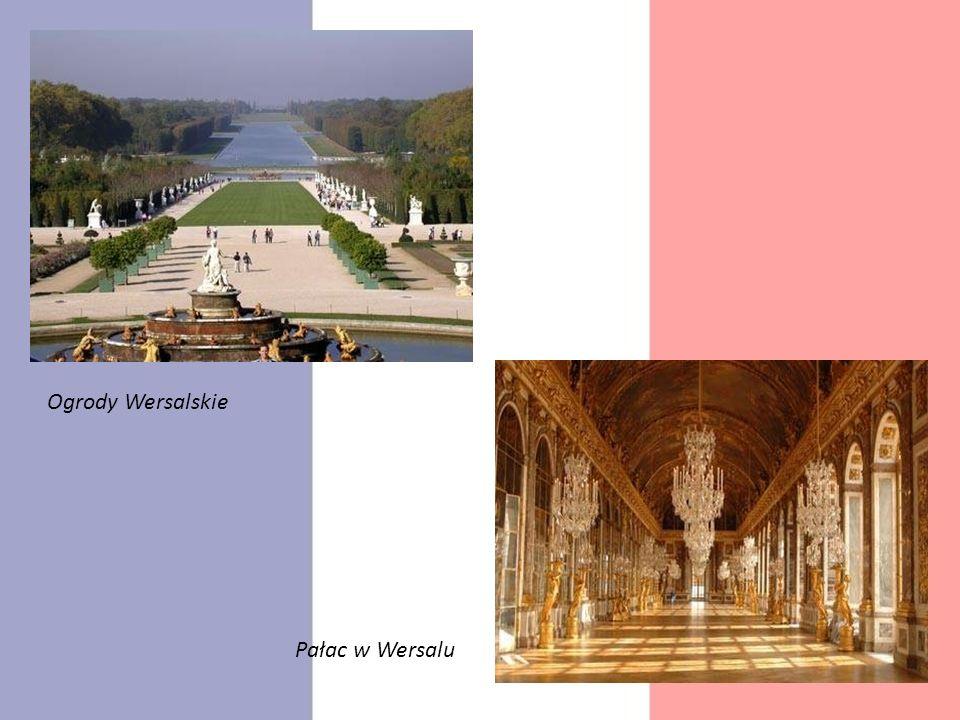 Ogrody Wersalskie Pałac w Wersalu