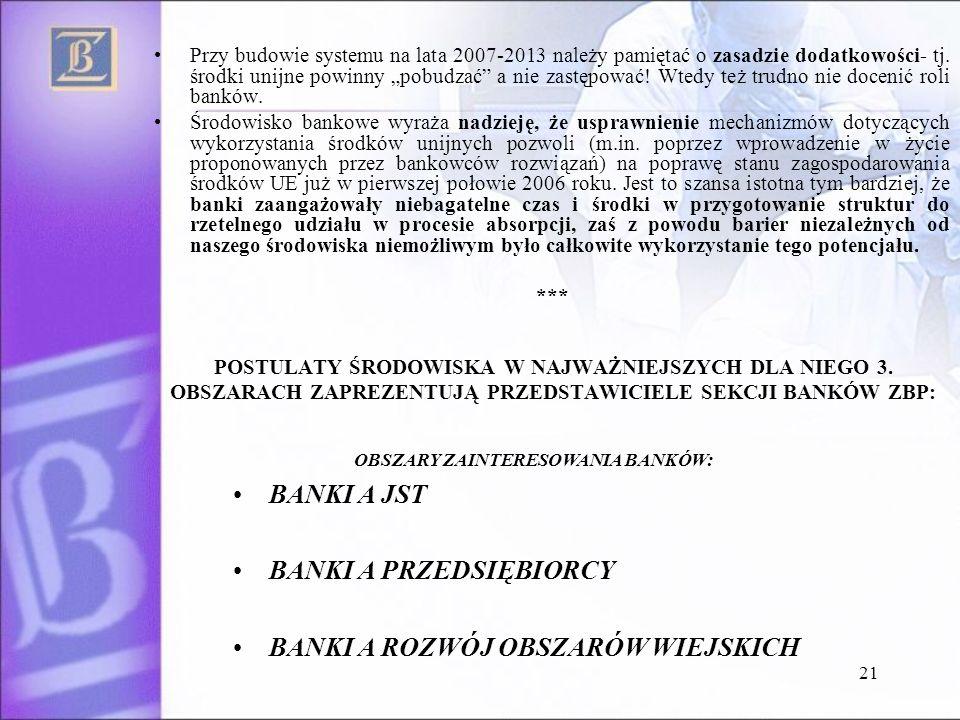 21 Przy budowie systemu na lata 2007-2013 należy pamiętać o zasadzie dodatkowości- tj.