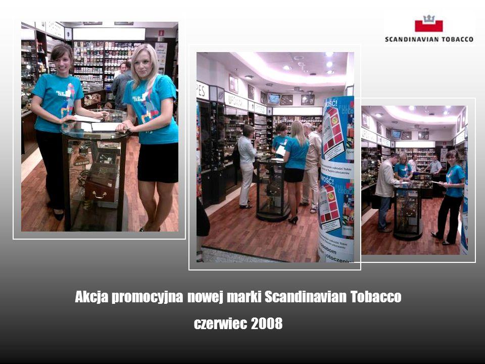 Akcja promocyjna nowej marki Scandinavian Tobacco czerwiec 2008