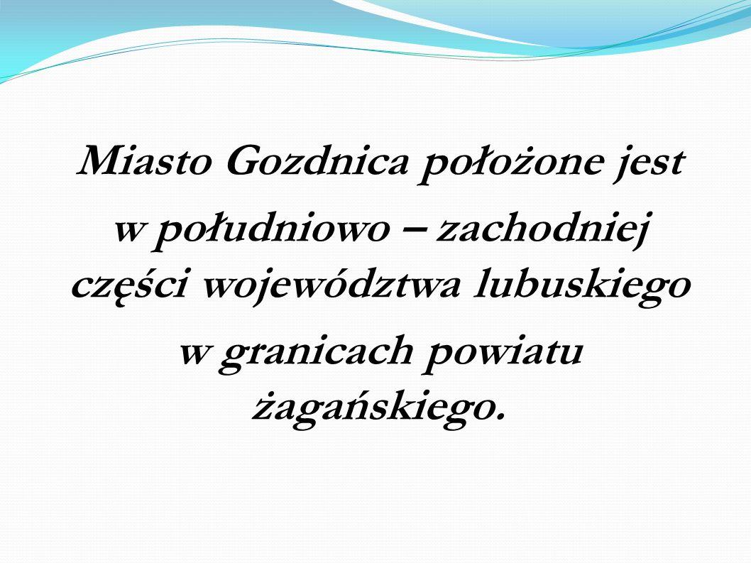 Miasto Gozdnica położone jest w południowo – zachodniej części województwa lubuskiego w granicach powiatu żagańskiego.