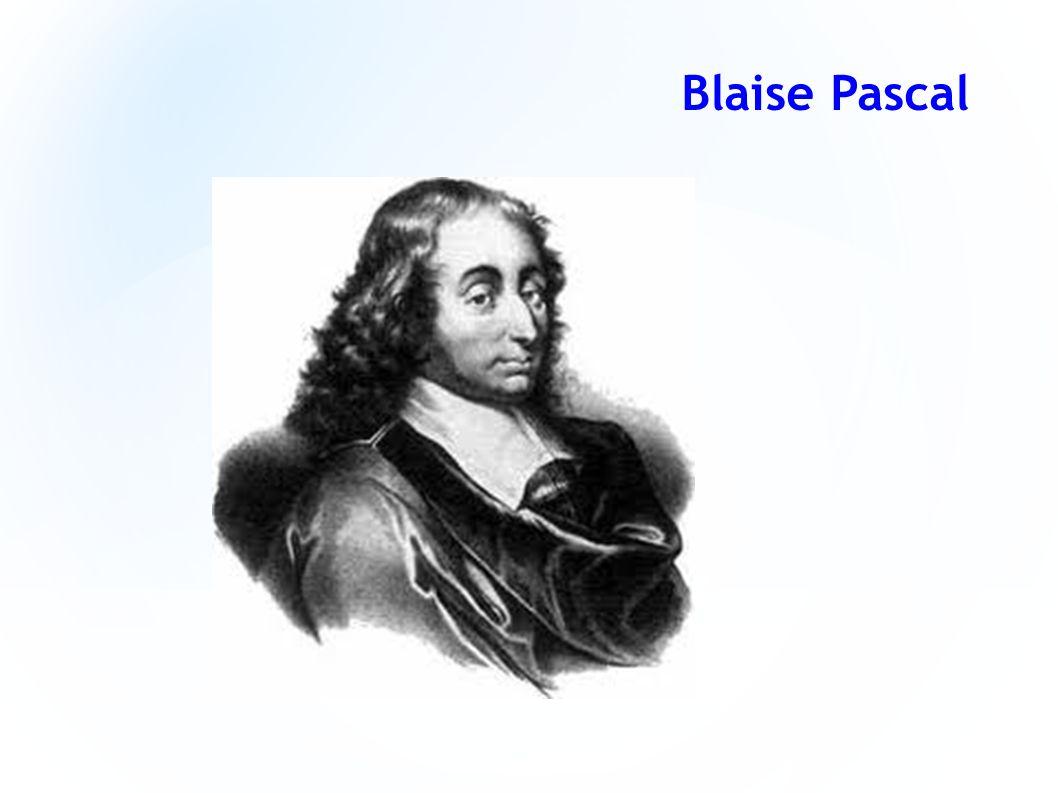 Blaise Pascal,(ur.19 czerwca 1623 w Clermont-Ferrand, zm.