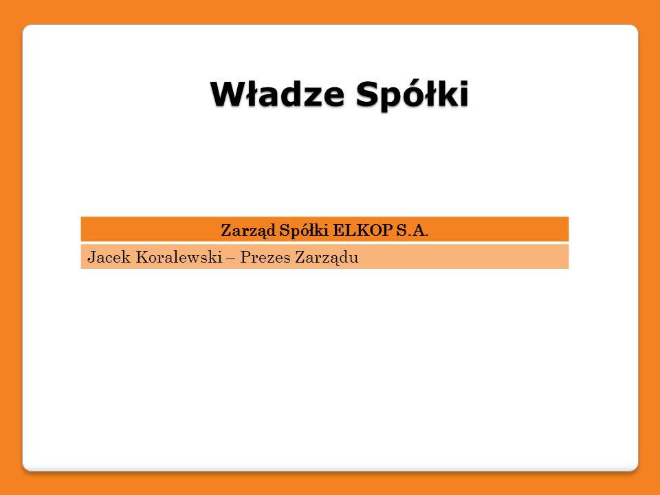 Lokalizacje Spółki ELKOP S.A.Siedziba główna – Chorzów, ul.