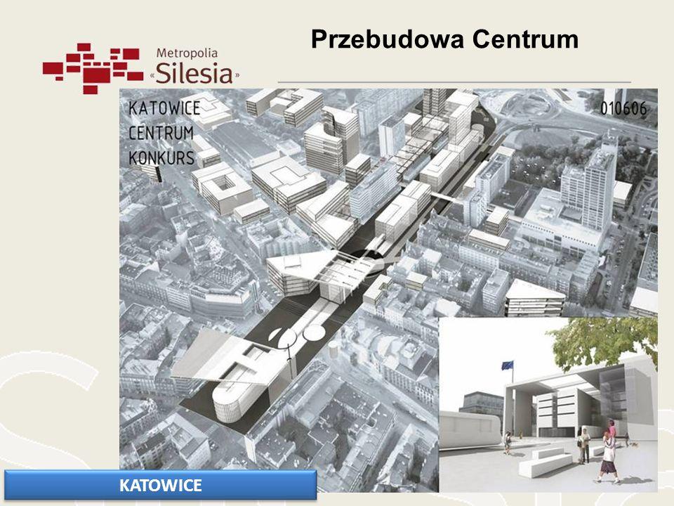 Przebudowa Centrum KATOWICE