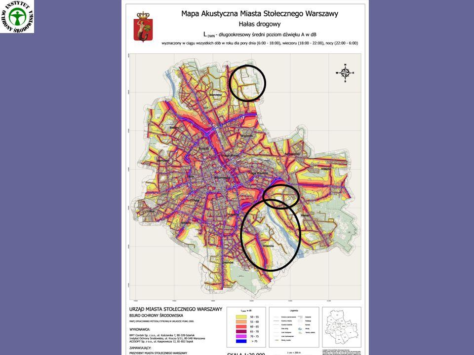 Program ochrony środowiska przed hałasem dla m.st.Warszawy 3