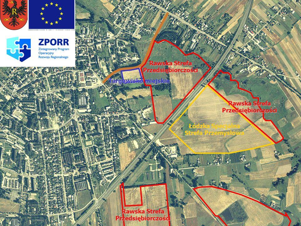listopad 2005 W poszukiwaniu finansów Budowa drogi dojazdowej do Łódzkiej Specjalnej Strefy Ekonomicznej, realizowana poprzez budowę drogi równoległej do trasy nr 8, po jej wschodniej stronie, przebiegającej od ul.