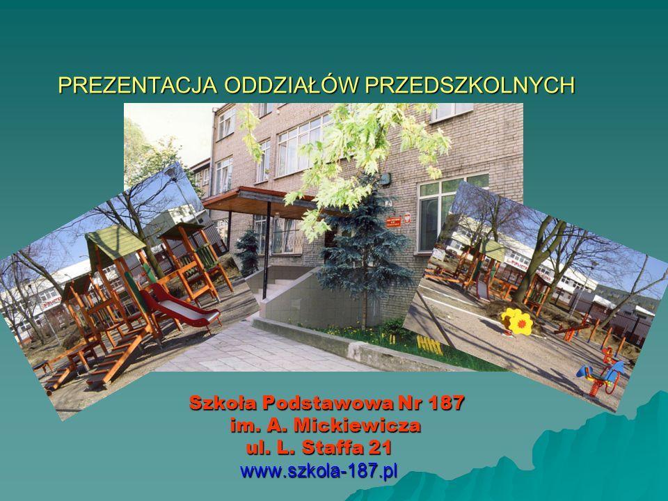 Rok szkolny 2008/2009 1 września 2005 roku po raz pierwszy otworzyliśmy oddział przedszkolny dla dzieci 6-letnich.