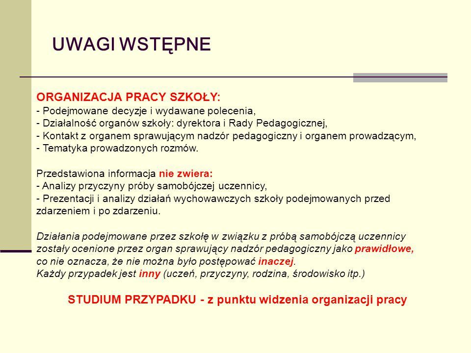 ŚRODOWISKO Publiczne Gimnazjum im.