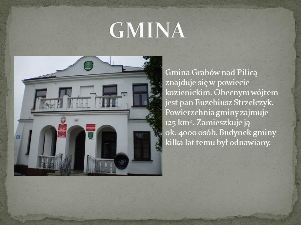 Gmina Grabów nad Pilicą znajduje się w powiecie kozienickim. Obecnym wójtem jest pan Euzebiusz Strzelczyk. Powierzchnia gminy zajmuje 125 km 2. Zamies