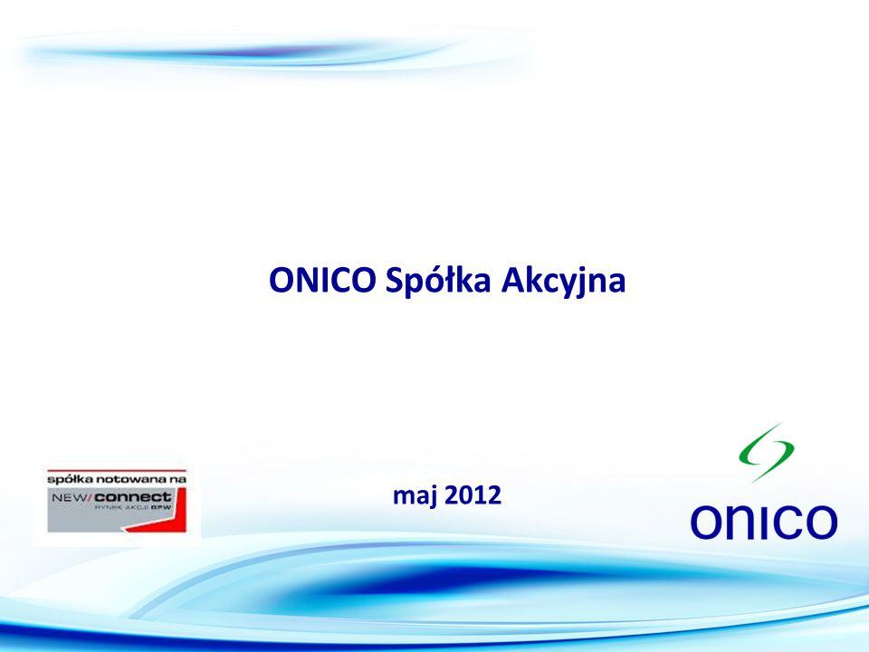 2 ONICO jest międzynarodowym pośrednikiem paliw płynnych wrzesień 2008 – założenie spółki kwiecień 2009 – uzyskanie koncesji na obrót paliwami ciekłymi z URE wrzesień 2009 – pierwsza transakcja na rynku LPG październik 2009 – emisja obligacji na Catalyst listopad 2010 – przekształcenie w spółkę akcyjną grudzień 2010 – emisja prywatna o wartości 2,25 mln zł luty 2011 – debiut na NewConnect