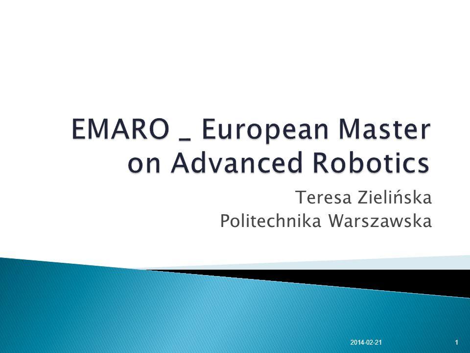 Teresa Zielińska Politechnika Warszawska 2014-02-211