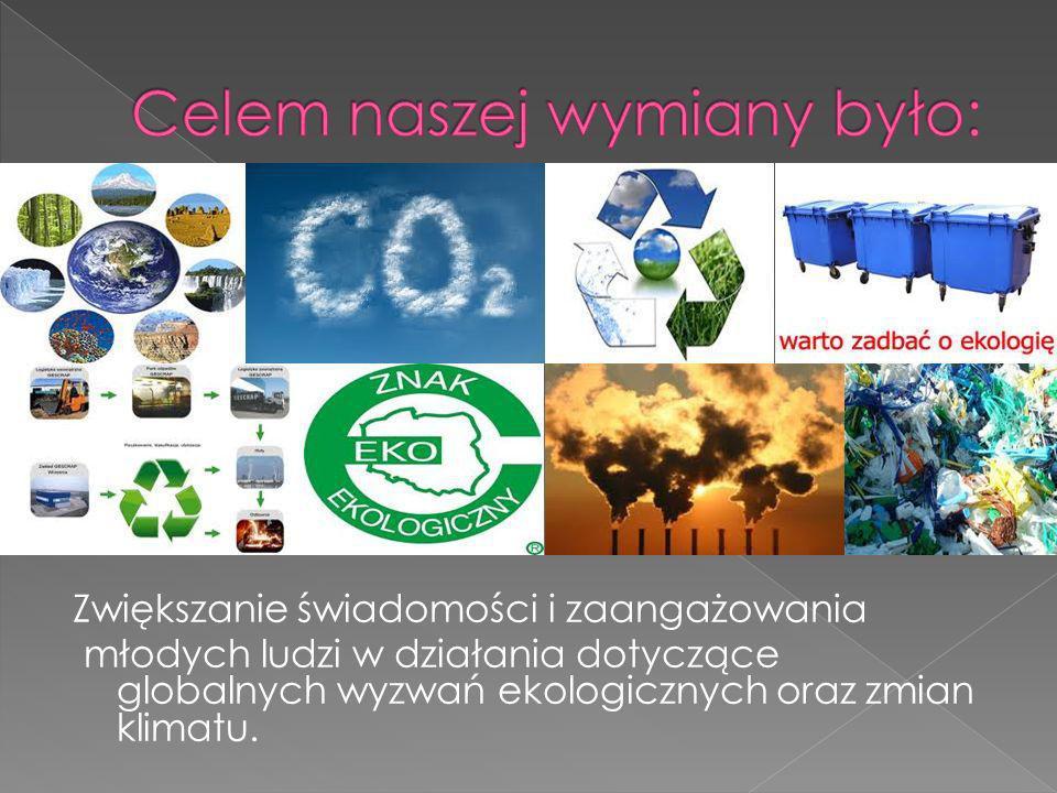 Zwiększanie świadomości i zaangażowania młodych ludzi w działania dotyczące globalnych wyzwań ekologicznych oraz zmian klimatu.