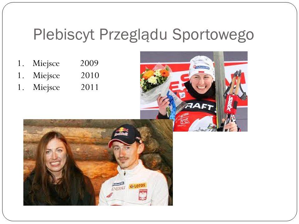 Plebiscyt Przeglądu Sportowego 1. Miejsce 2009 1. Miejsce 2010 1. Miejsce 2011